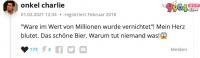数百万啤酒滞销德国人哭成一片!网友的回答亮了…